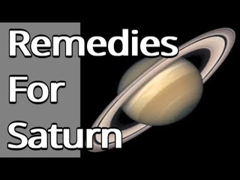 Lal Kitab Remedies for Saturn or Shani