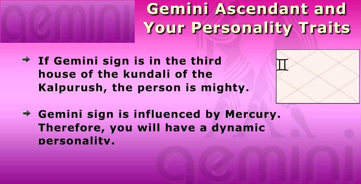 Mars Results For Gemini Ascendant | Good And Bad Planets For