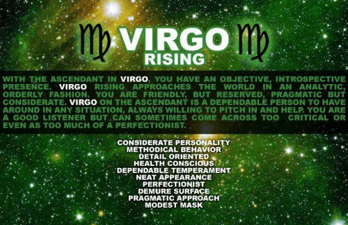 Mercury Results For Virgo Ascendant - Astrologygains