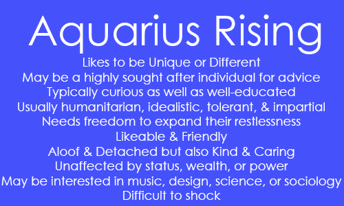 moon results for aquarius ascendant - Astrologygains