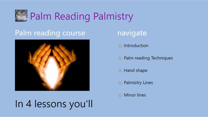 Palmistry Palm Reading