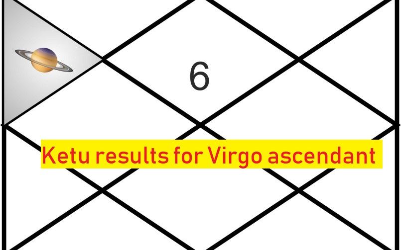 Ketu Results For Virgo Ascendant - Astrologygains