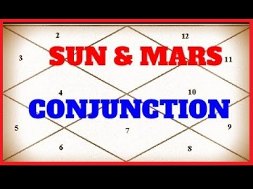 sun mars conjunction - Astrologygains
