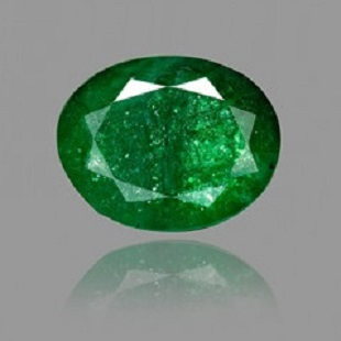 Zambian Emerald Stone with Lab Certified Card