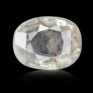 White Sapphire Natural Original Top Quality Lab Certified Gemstone of 5-7 Ratti from Sri Lanka