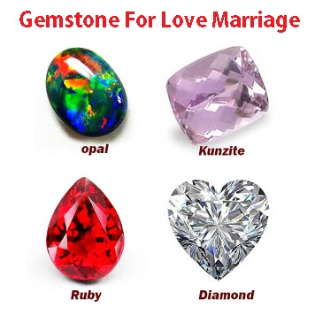 Gemstone For Love Marriage