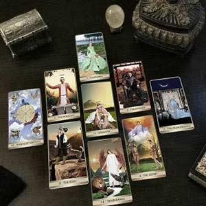 A relationship quickie Tarot spread